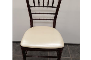 Resin Mahogany Chiavari Chairs
