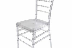 Resin Crystal Chiavari Chairs