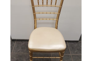 Resin Gold Chiavari Chairs