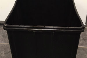 Black Beer Tub 19″W x 23″L x 12″D