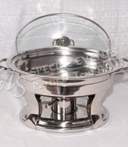 Oval Stainless Steel 4 qt