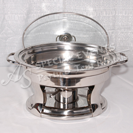 Oval Stainless Steel 4 qt 1