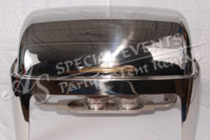 Polished Roll Top Stainless Steel/Brass