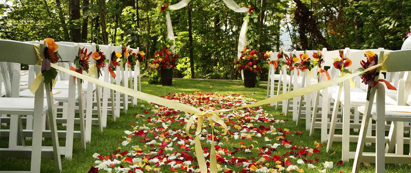 Places For Wedding Ceremony: Party Rentals Toronto