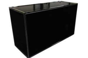 6′ Black Chrome Bar