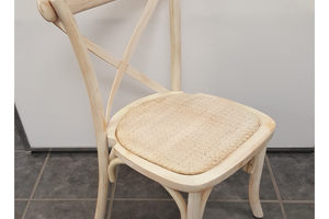 HARVEST WHITEWASH CHAIR