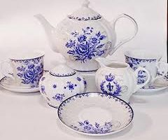 Cream & Sugar Set – White China
