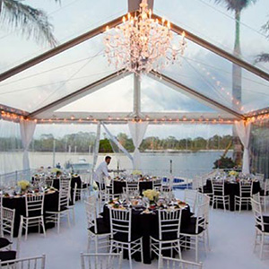 Beautiful Clearspan Tent Package