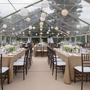 Clearspan Tent With Perfect Dinning Facilities